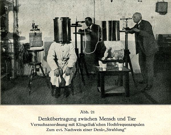 Karl KRALL 1920 Experience de telepathie entre l homme et le chien