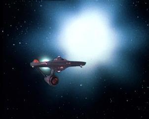 La supernova de l'épisode 78 saison 3 de Star Trek