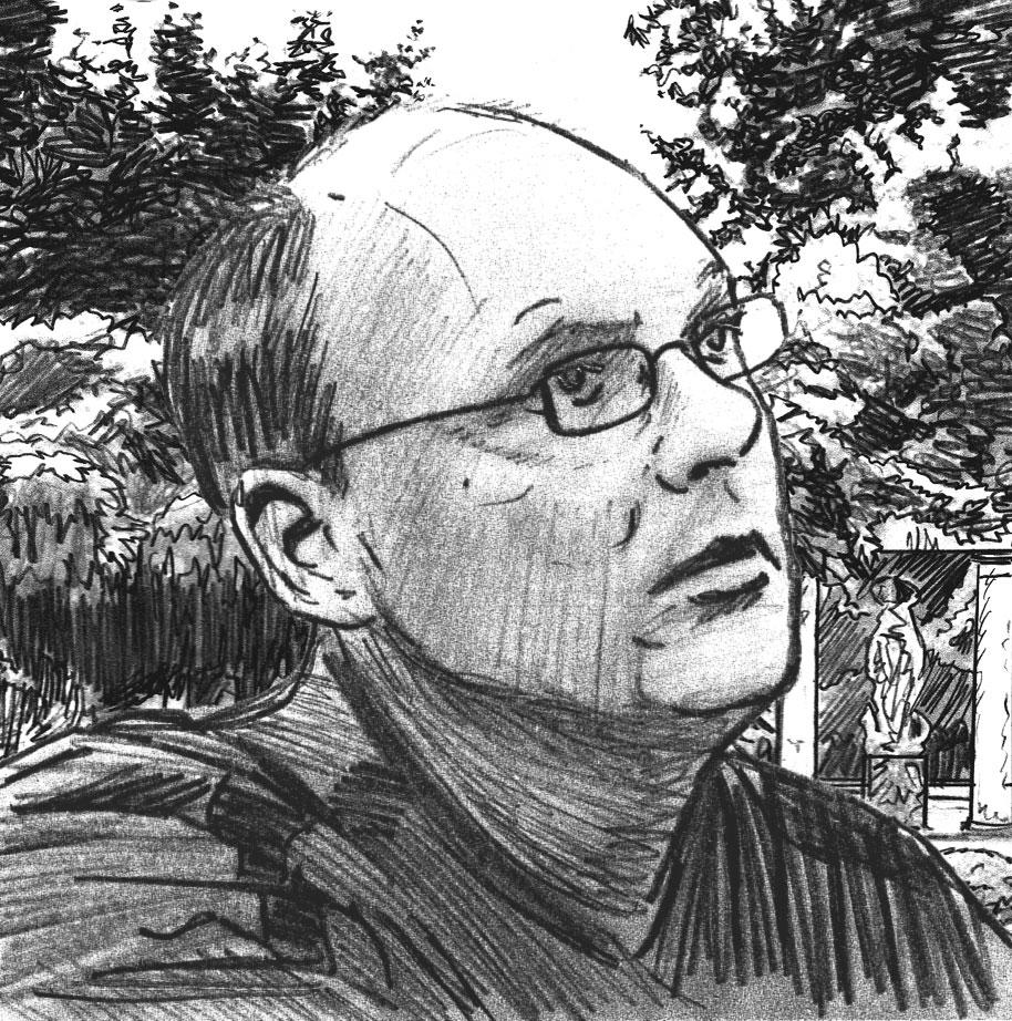 Portrait de Laurent Genefort par Jérôme Stavroguine