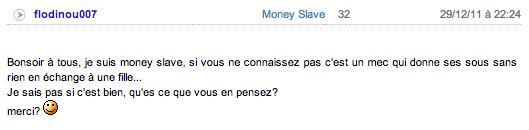moneyslaveannonce